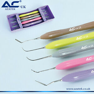 Composite Filling Instruments Set Silicon Handle Similar To Lm Free Cassette