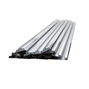 15 Aluminum Metal Groove Inserts Slat Wall Panels Protection Double Strength