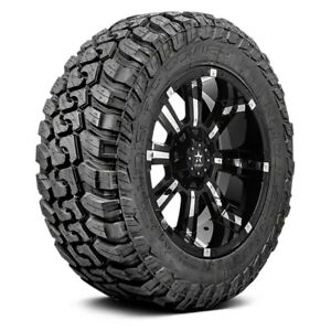 Rbp Set Of 4 Tires 33x12 5r20 Q Repulsor M t Ii All Terrain Off Road Mud