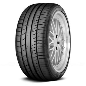 Continental Set Of 4 Tires 245 50zr18 Y Contisportcontact 5 Performance