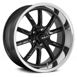 Ridler 650 Wheels 17x8 0 5x120 65 83 82 Black Rims Set Of 4