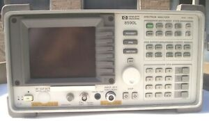 Working Hp 8590l Spectrum Analyzer 9 Khz 1 8 Ghz Hewlett Packard Agilent
