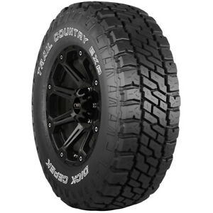 4 Lt285 70r17 Dick Cepek Trail Country Exp 121 118q E 10 Ply Owl Tires