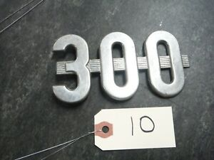 Ih Farmall 300 Utility Tractor Emblem Missing Peg 10
