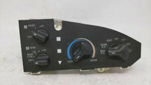2005 2014 Ford E 150 Ac Heater Climate Control Temperature Oem 60601