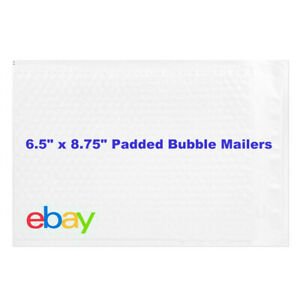 Ebay Branded Shipping Supplies Padded Bubble Poly Mailers Envelopes 6 5 X 8 5