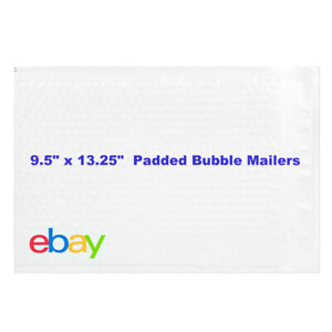 Ebay Branded Shipping Supplies Padded Bubble Poly Mailers Envelopes 9 5 X 13 25