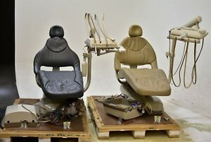 Midmark Lot Of 2 Dental Exam Chairs Operatory Set up Packages Deliveries