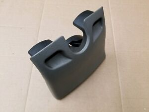 Chevy Gmc Oem 2002 2009 Trailblazer Envoy Gray Rear Flip Down Center Cup Holder