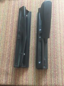 Set Of 2 Acco 3 Ring Hole Punch Heavy Metal Black
