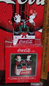 COCA COLA ENESCO THINGS GO BETTER WITH COKE LIMITED EDITION COLLECTIBLE ORNAMENT
