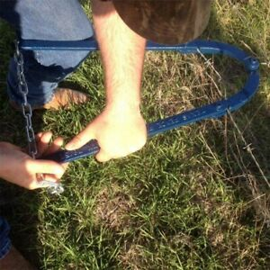 Garden Farm Chain Fence Strainer Fixer Plain Barbed Wire Strainer Repair Tool Us