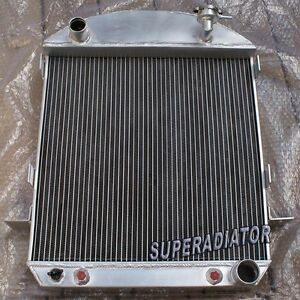 3 Row Aluminum Radiator For Ford Model T W Chevy Engine 1924 1927 1925 1926 New