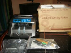 Ocom Hk200s Bill Money Cash Counter Machine Currency N Box Used Just A Few Time