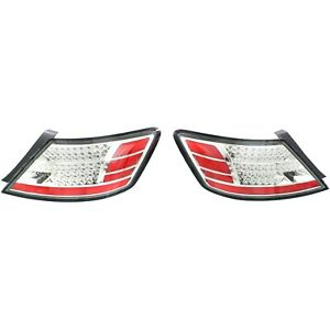 Tail Light For 2006 2008 Honda Civic Driver And Passenger Side Set Of 2