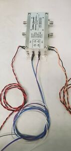 Pre wired Mini circuits Zswa 4 30dr 50 Sp4t Sma Rf Switch Dc To 3ghz
