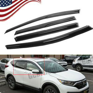 For Honda Crv Cr v 2012 2016 Window Visors Mugen Style Sun Rain Guard Deflector