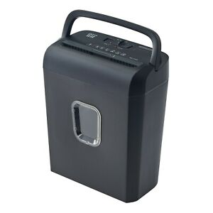 Pen Gear 6 Sheet Micro cut Paper And Credit Card Home Office Shredder