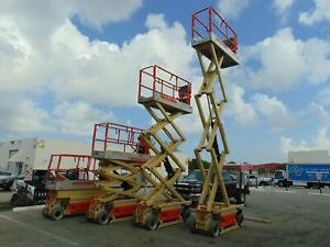 Jlg 2030es pro Site Electric 26 Work Height Scissor Lift Refurbished By Jlg