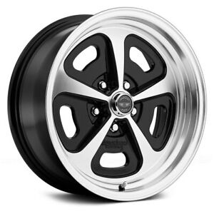 American Racing Vn501 500 1pc Wheels 15x8 0 5x114 3 72 6 Black Rims Set Of 4