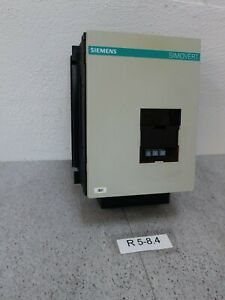 Siemens 6se2101 1aa1 Frequency Converter Input 1 Fase Output 3 Chamfer 0 400hz