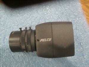 Pelco Model Ccc1300h 2 Color Ccd Camera With Lense