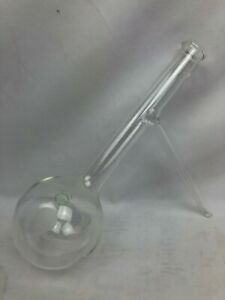 Pyrex 250ml Distilling Flask Round Bottom Sidearm