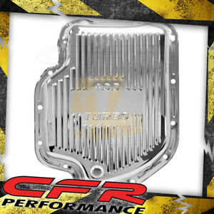 Chevy Gm Turbo Th 400 Steel Transmission Pan Chrome