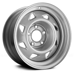 For Chevy S10 94 97 8 slot Silver 15x7 Steel Factory Wheel Remanufactured