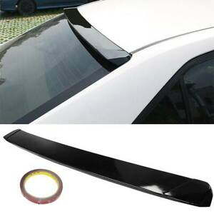 Jdm Sport Style Rear Roof Window Spoiler Visor Wing For 2014 2018 Toyota Corolla