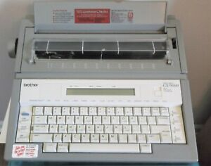 Brother Gx 9000 Word Processing Correctronic Daisy Wheel Port Typewriter W cover