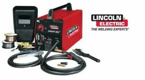 Lincoln Electric K2185 1 Handy Mig Welder 110v Mig Or Flux Core Welding Machine