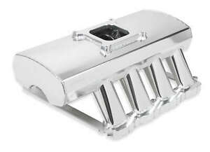 Sniper Sheet Metal Fabricated Intake Manifold Silver For 2005 09 Ford 4 6l