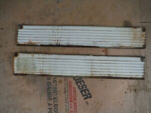 Ih Farmall 560 Tractor White Engine Skirts