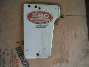 Ih Farmall 560 Diesel Tractor Left Side Panel With Emblem