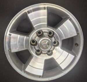 2003 2009 Toyota 4runner 17 Inch Alloy Wheel Rim Original With A Cap Siver Color