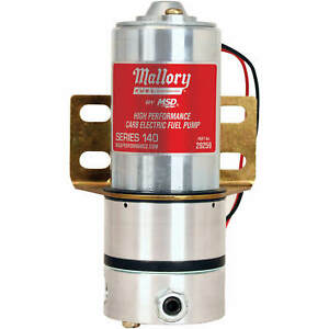 Mallory High Pressure Fuel Pump Model 140 3 8 Npt 140gph Free Flow
