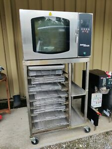 Belshaw Adamatic Fg189uz 82 Industrial Convection Oven Works Donut