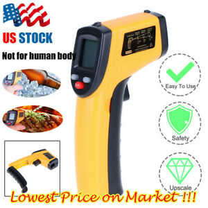 Us Non contact Lcd Ir Laser Infrared Digital Temperature Thermometer Gun Pyromet