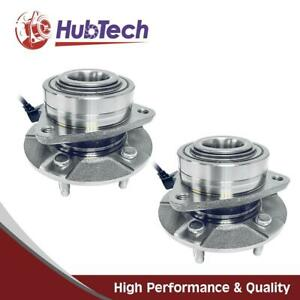 2x Front Wheel Hub Bearing Assembly 5 Lug W Abs For Saturn Vue 2002 2007