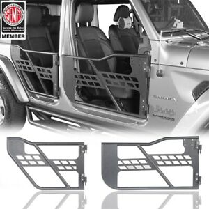 4 Door Off Road Front Rear Tubular Door Fit 18 20 Jeep Wrangler Gladiator Jl Jt