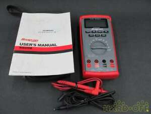 Snap on Digital Multimeter 20410700 Eedm504d Measuring Instrument Safty Shipping