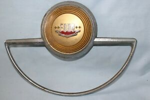 Vintage 1949 1951 Ford Steering Wheel Horn Ring