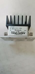 Mini circuits Zfl 2500vhb Rf Amplifier 50 Medium Power 10 To 2500 Mhz Sma