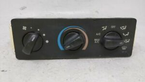 2000 2003 Ford Ranger Ac Heater Climate Control Temperature Oem 61963