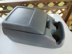 92 96 97 Ford Pickup Truck Bronco Interior Bucket Seat Center Console Blue