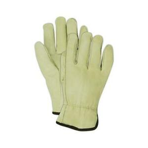 Cowhide Leather Work Gloves Medium