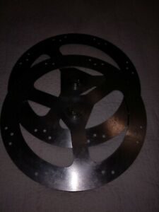 Pair Henny Penny Scr 8 Rotisserie Oven Disc Wheel Spit Holder Set Of 2