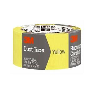 3m Duct Tape Yellow 1 88 X 20 yd