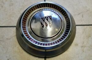 Vintage Buick Dog Dish Poverty Cap Hubcap 1962 1970 Stainless Used